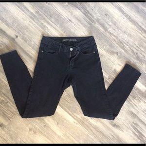 Old Navy Rockstar Low Rise Black Jeans 6 Regular